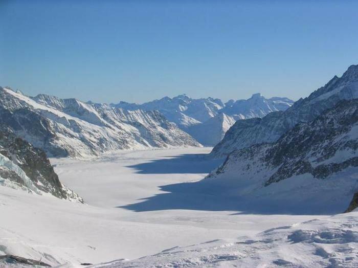 Прекрасные европейские горы Альпы в снегу 0 221f5b eef64706 XL