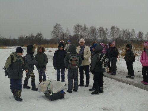 Зимний поход. Февраль 2016 года