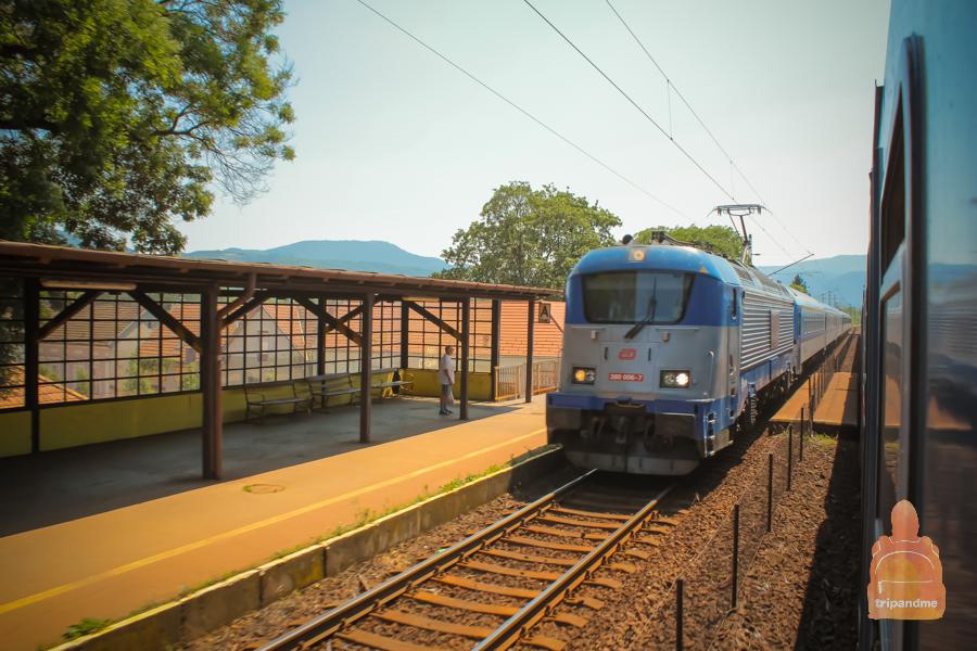 Будапешт и Прагу связывает железная дорога
