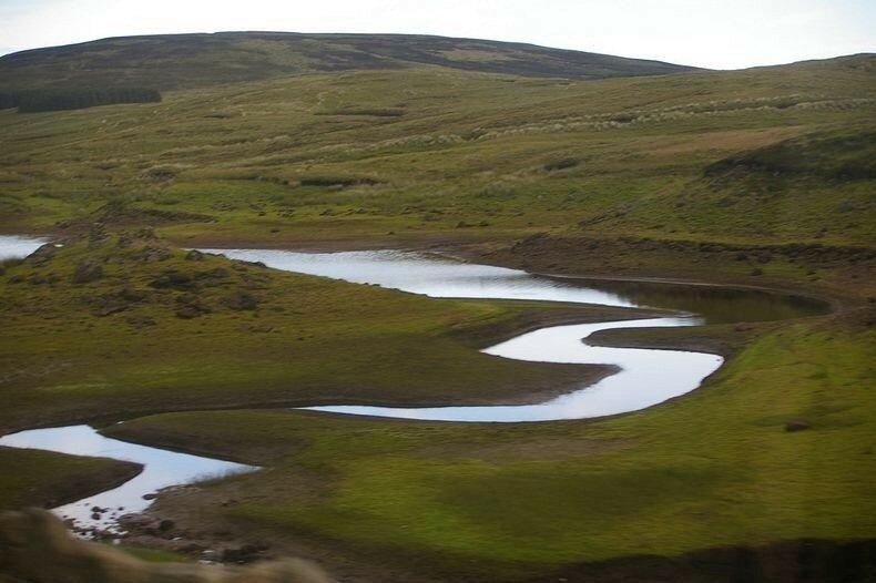 Лохарима, исчезающее озеро в Ирландии. Настоящий фокус на глазах туристов!