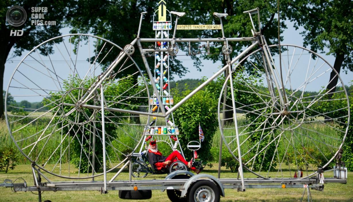 6-метровый велосипед от безумного Диди Зенфта (3 фото)