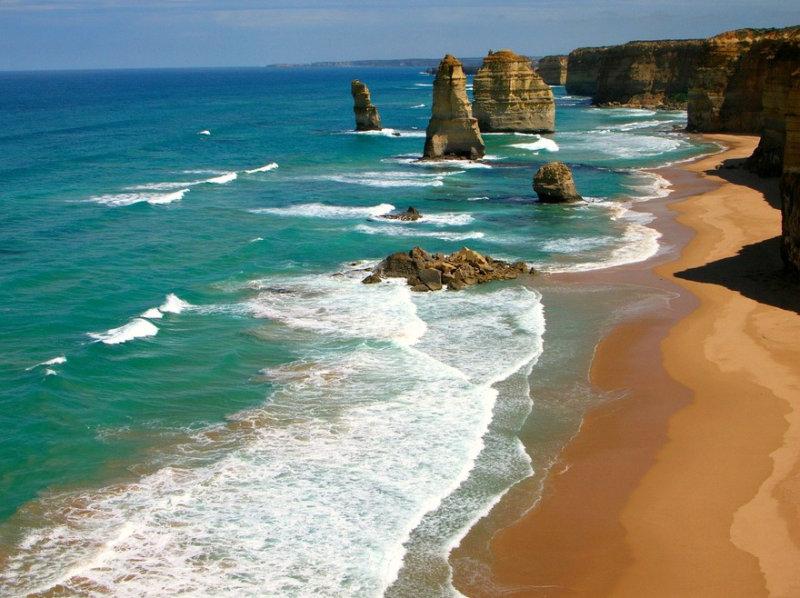 Австралия гордится некоторыми своими пляжами заслуженно, поскольку те - лучшие на планете. Это
