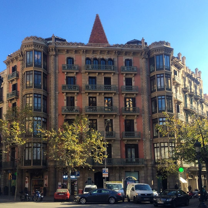 Красивая архитектура Барселоны Instagram фото 19