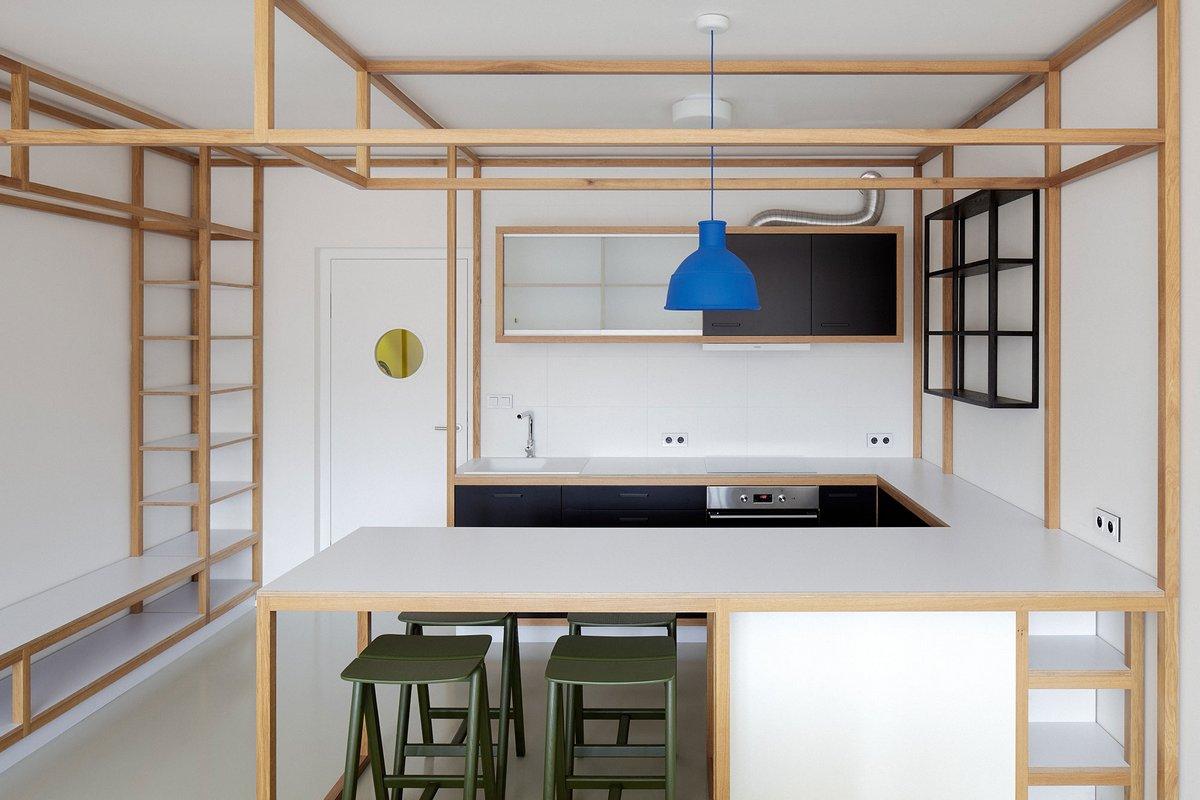 Дизайн студии квартиры минимализм