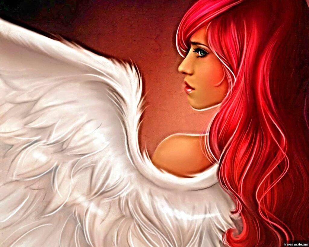 Прикольные картинки ангелов на аву