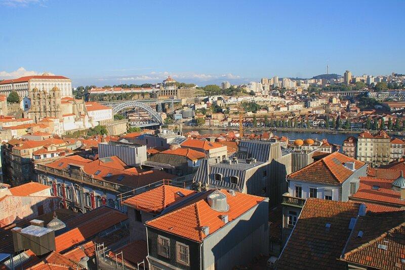 Порту, вид со смотровой площадки (Porto view from the observation deck)