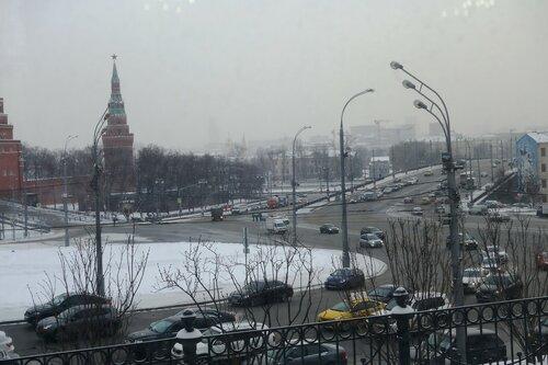 Живая библиотека! За окном Москва