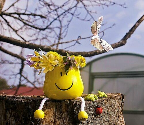 Первый смайлик тебе, Весна!)
