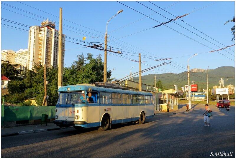 Первый троллейбус.