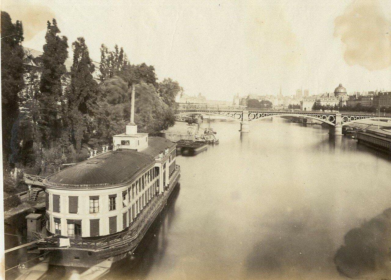 1880-е. Вид на Сену
