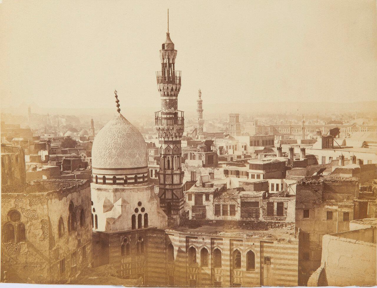 Каир. Вид городских крыш