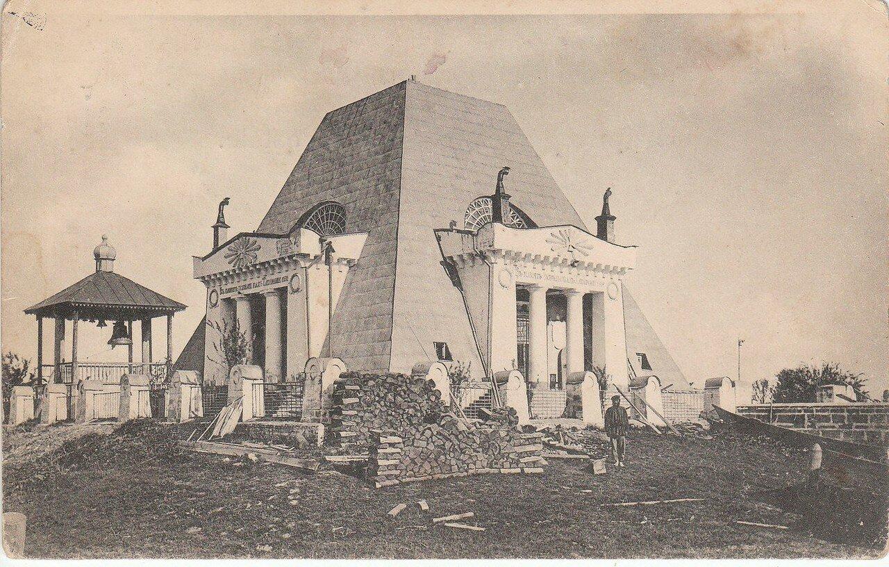 Храм-памятник воинам, павшим при взятии Казани в 1552 году