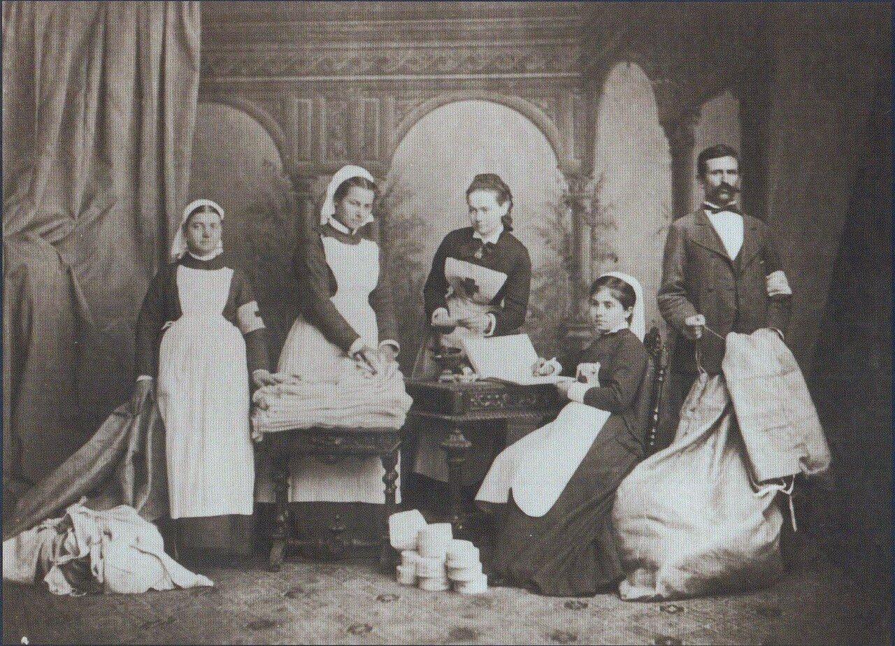 06. Медицинский персонал одной из санитарных частей, 1877