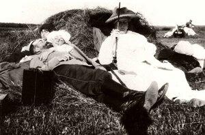 В окрестностях Могилева. 1916