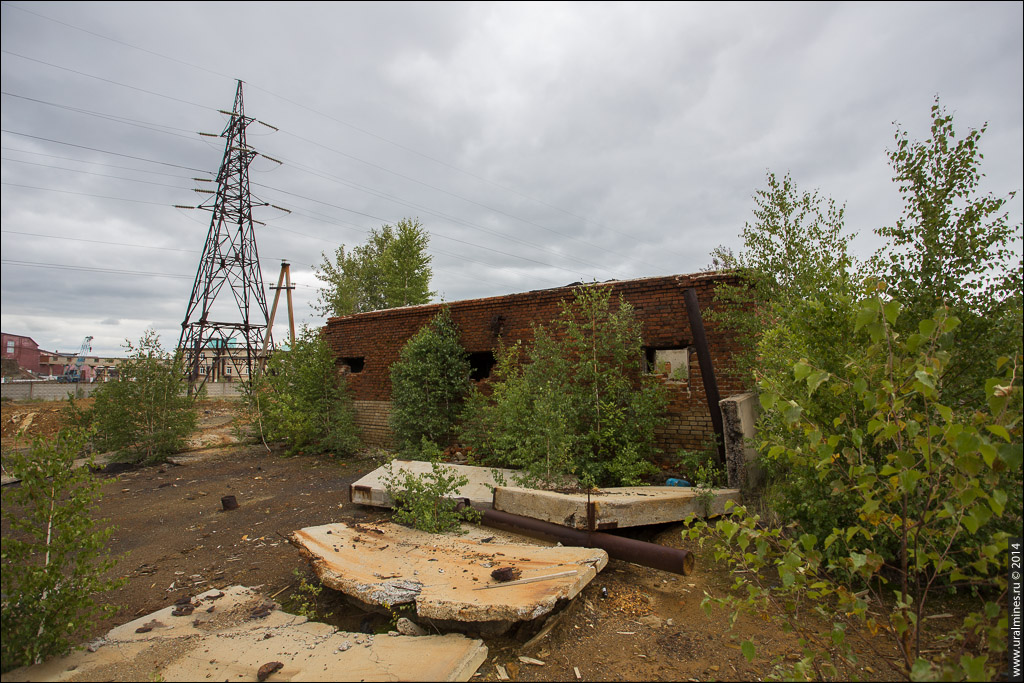 Ковеллиновый рудник Кировградского комбината