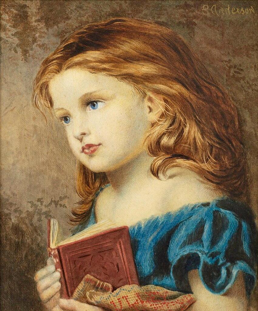 Reverie. Софи Жанжамбр Андерсон (1823- 1903)