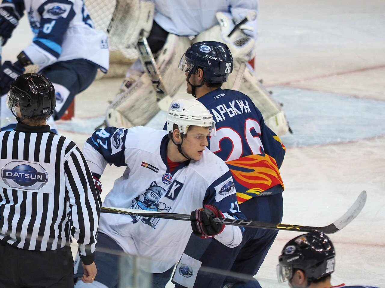63Плей-офф МХЛ 2016 1/4 Стальные Лисы - Сибирские Снайперы 21.03.2016