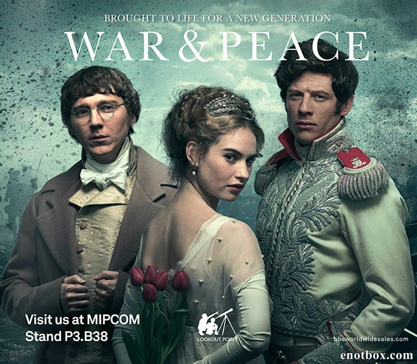 Война и Мир (1 сезон: 1-6 серии из 6) / War and Peace / 2016 / ПМ (NewStudio) / WEB-DLRip + WEB-DL (720p) + (1080p)