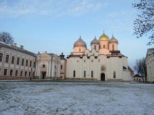 Софийский собор - Новый год в Великом Новгороде