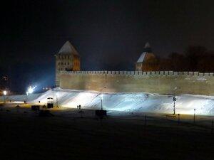 Новгородский Кремль - Новый год в Великом Новгороде
