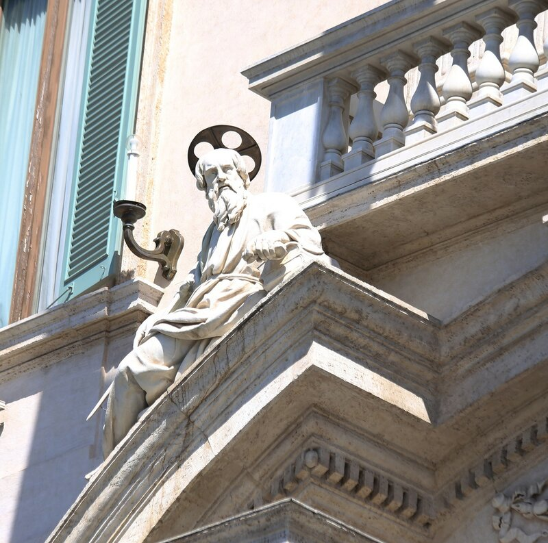 Рим. Площадь Квиринале (Piazza del Quirinale)