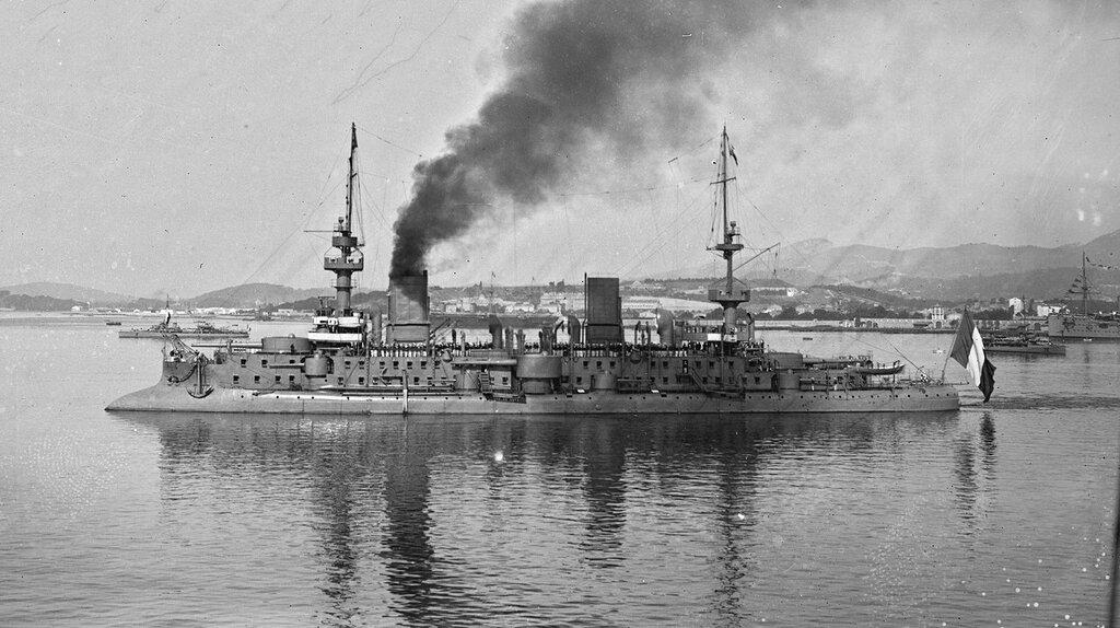 Массена, 4 сентября 1911 года, на параде по случаю окончания Больших флотских маневров