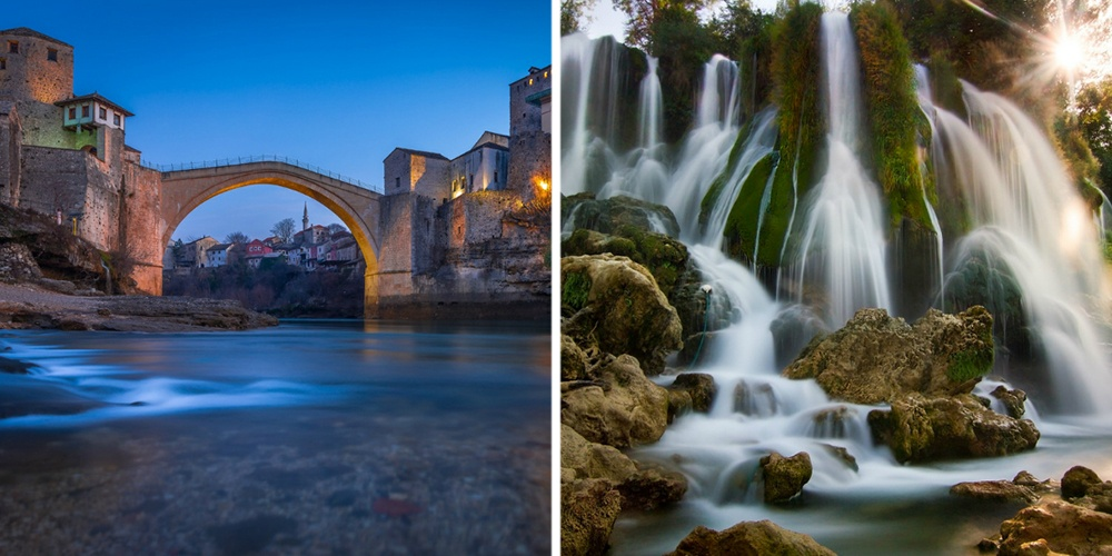 Лучшее время для посещения Боснии иГерцеговины для отдыха наприроде иэкскурсий— смая посентябр