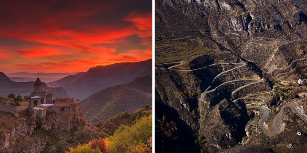 Армения— это величественные горы ипотрясающе красивые леса, абрикосы ивкуснейший шашлык, настояще