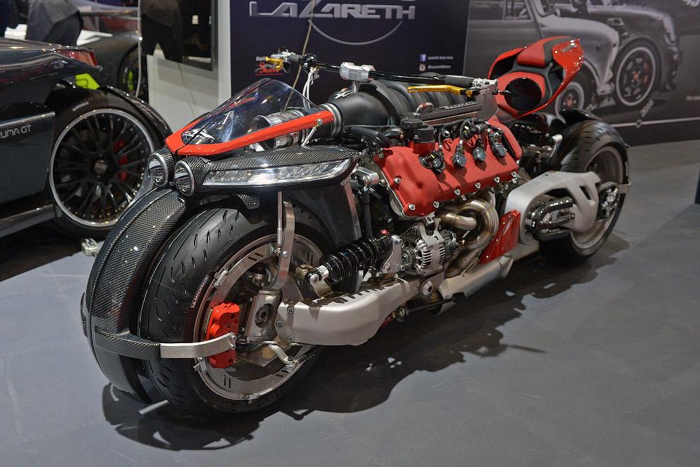38. Называется этот монстр незамысловато — LM847, он имеет 4,7-литровый V8 мощностью 470 л.с.<b
