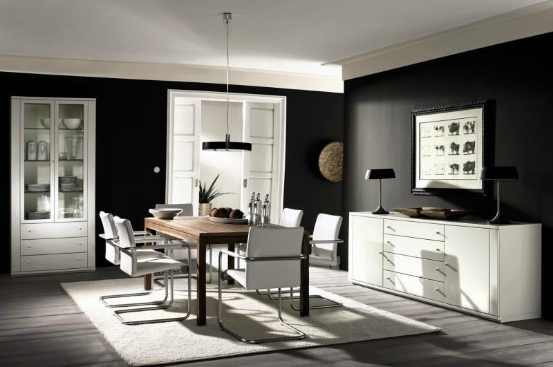 Черный цвет в дизайне интерьера фото 15