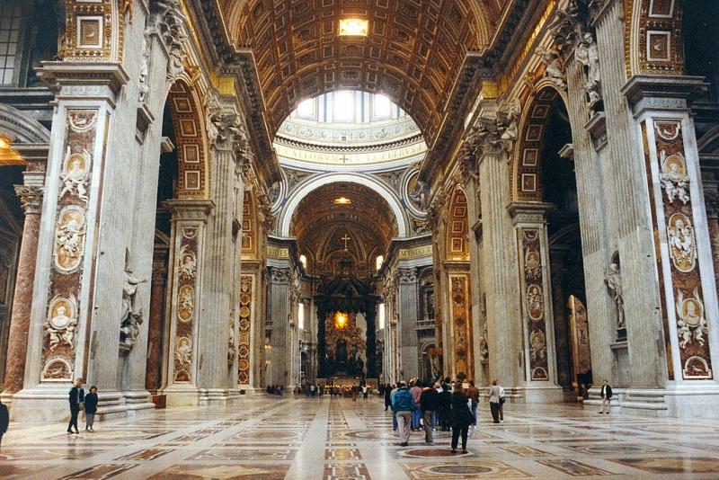 Самые красивые церкви Рима, Собор Святого Петра