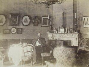 Интерьер в доме Левашовых на Фонтанке