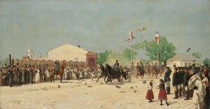 Въезд Александра II в Плоешти 15 июня 1877 года