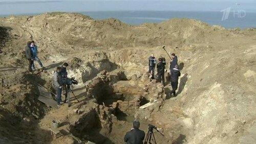 Сенсационная находка археологов на месте строительства энергомоста в Крым