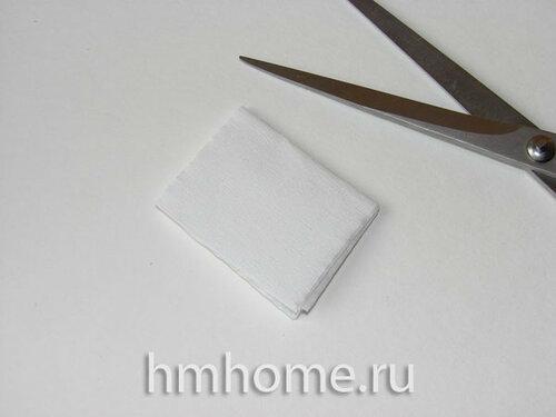 Магнолия из бумаги