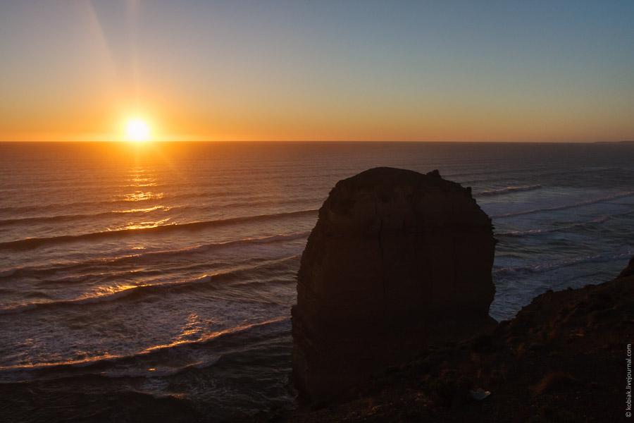 Австралия: дорога к 12 апостолов