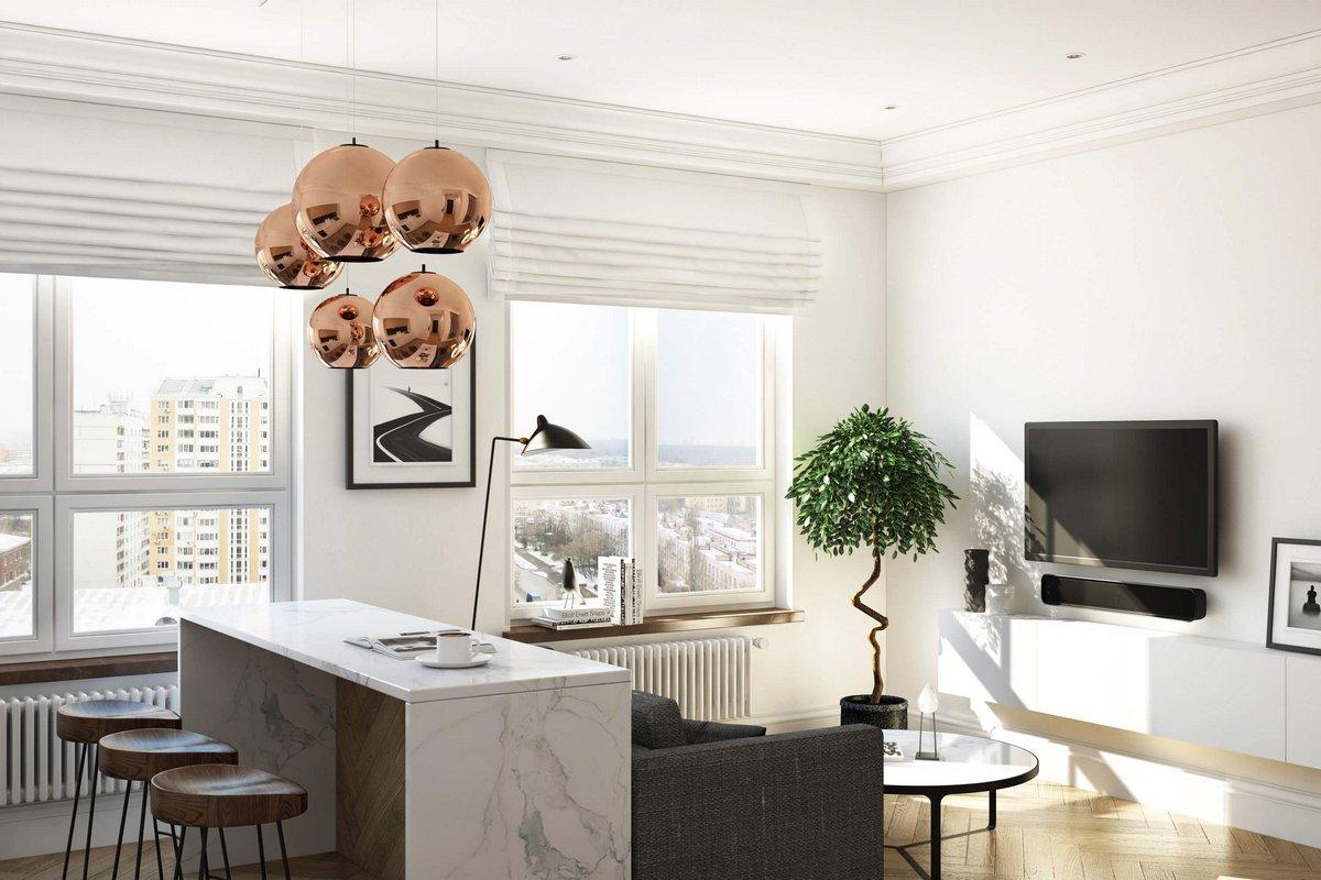 Geometrium, проект маленькой квартиры фото, дизайн интерьера квартиры для девушки, дизайн интерьера маленькой квартиры, дизайн интерьера однушки фото