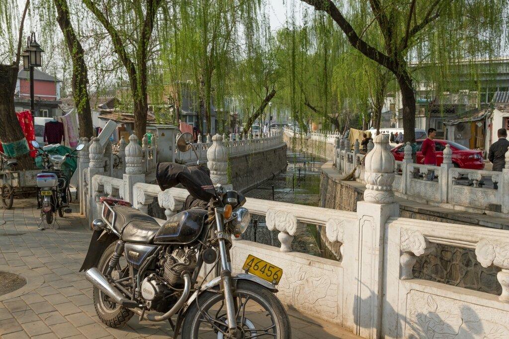 Протока между озерами Хоухай и Сихай, Шичахай, Пекин