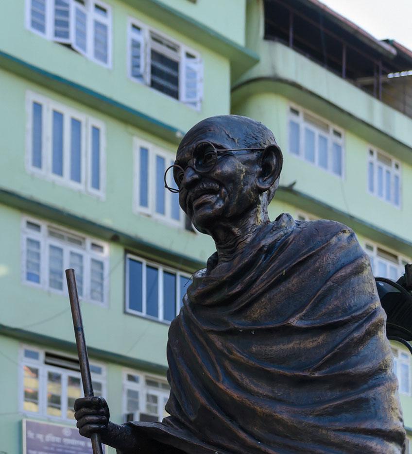 Фото 4. Махатма Ганди. Отзывы туристов о поездке в Индию. 2.8, 1/1000, 640, 40.