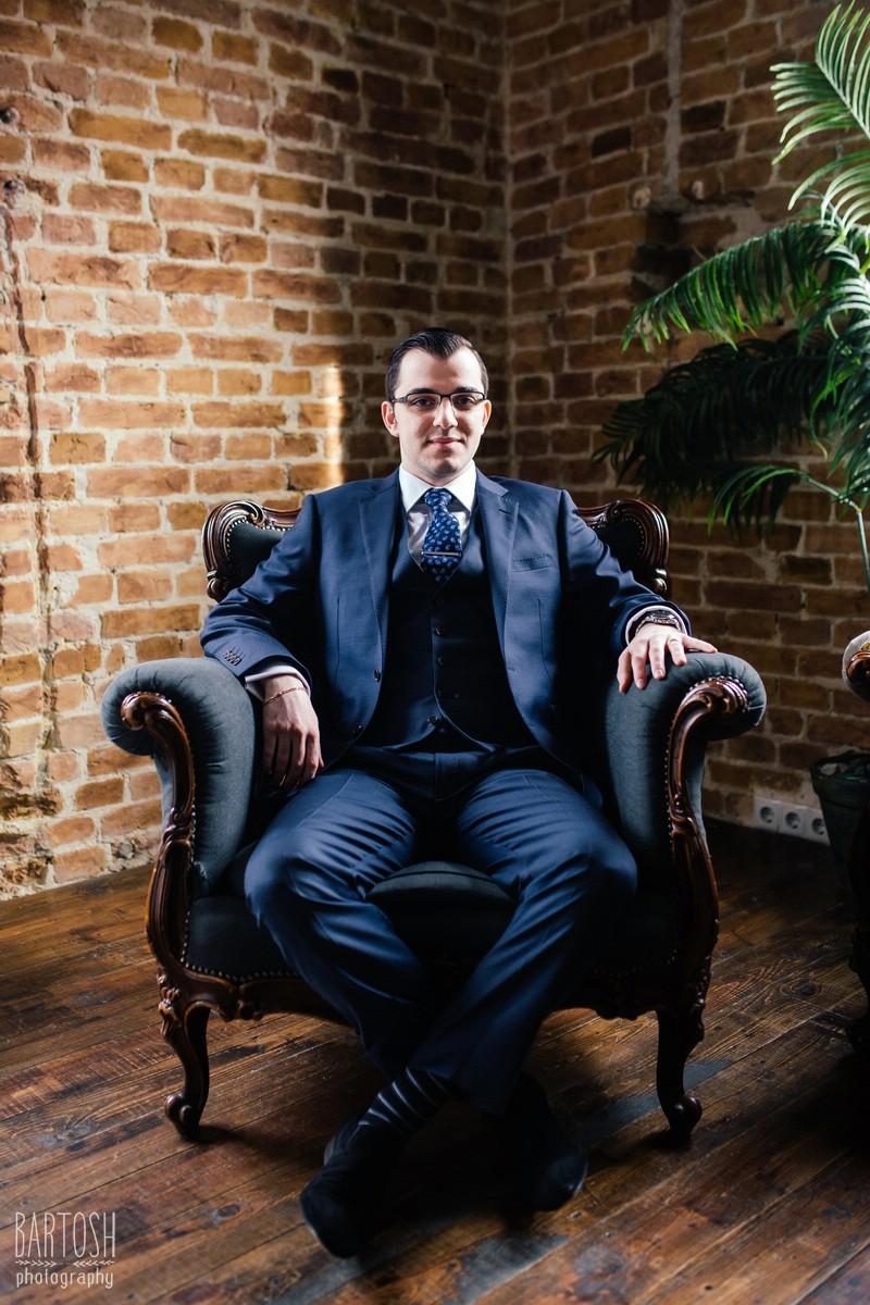 Эмиль. Фотосъемка бизнес портрета в Киеве