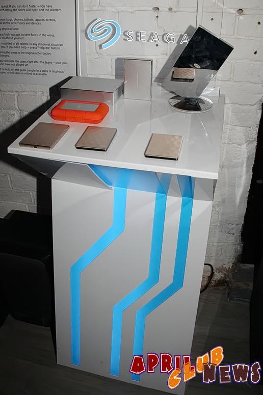 Презентация мобильных и настольных внешних жестких дисков Seagate