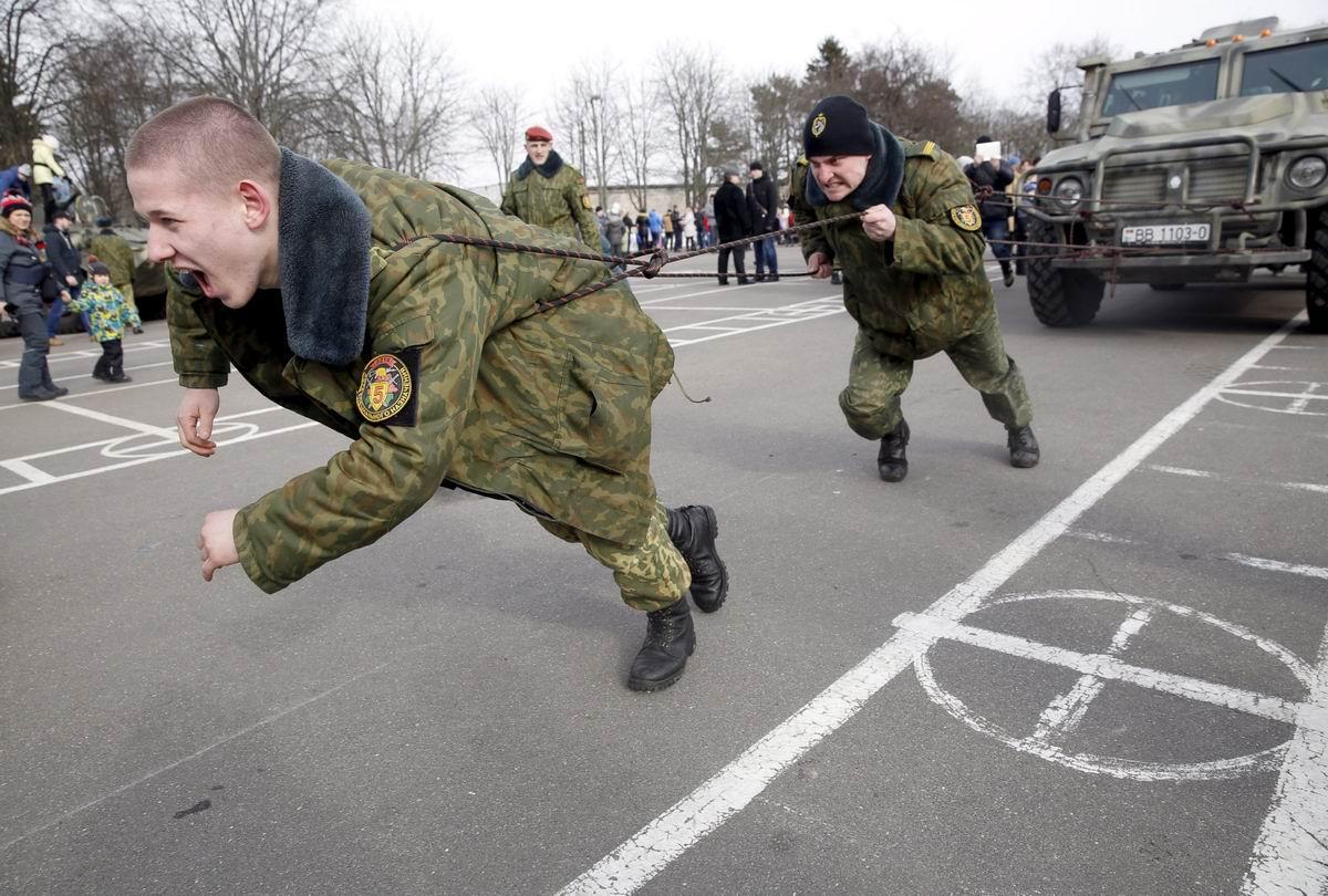 Супер-тяжеловозы: Суровый белорусский спецназ