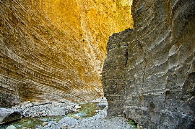 Самарийское ущелье. Крит, Греция