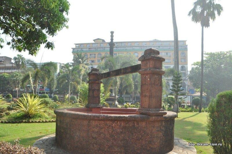 Парк Гарсия де Орта в Пананджи