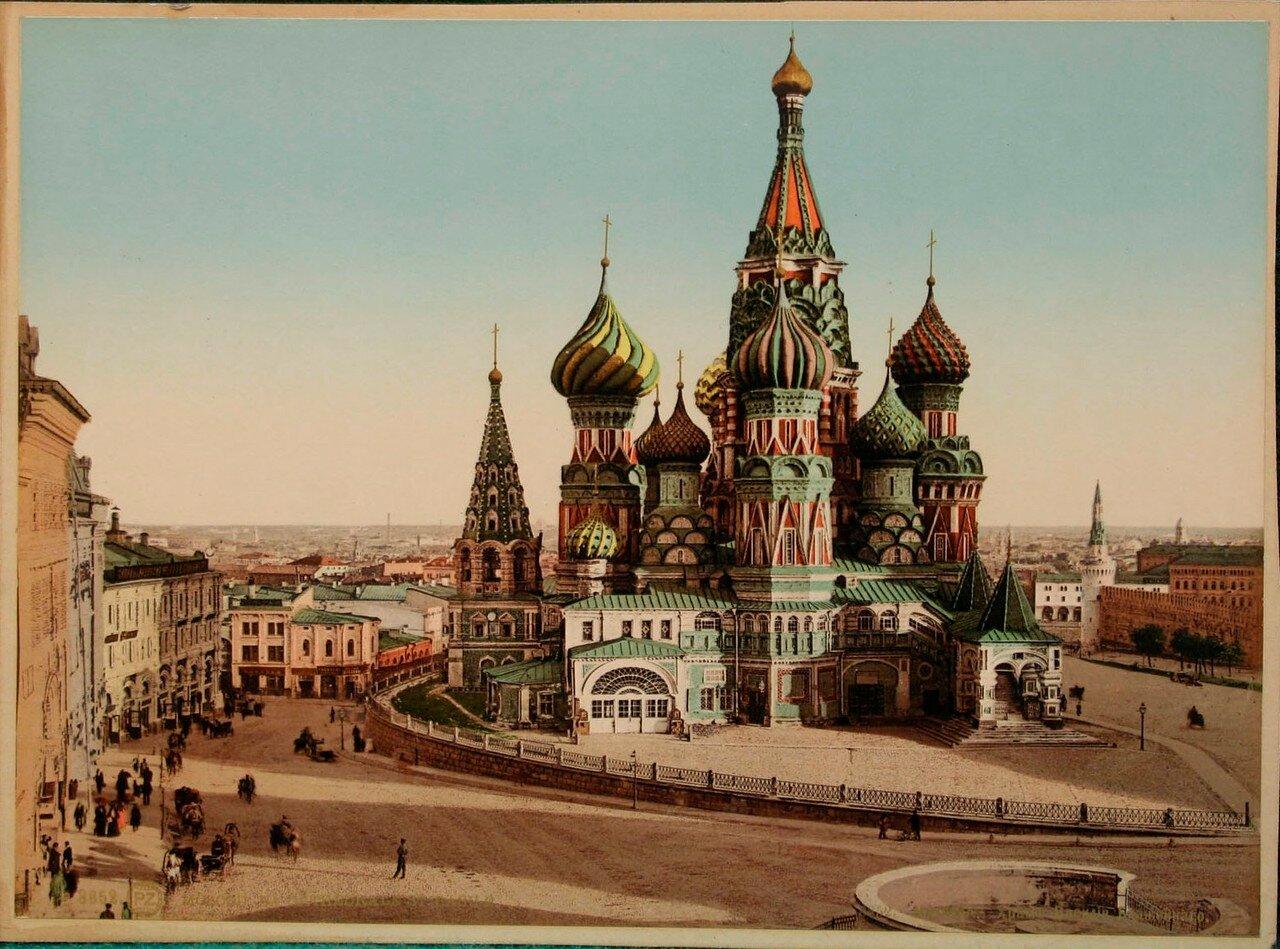 686. Храм Василия Блаженного. Около 1900