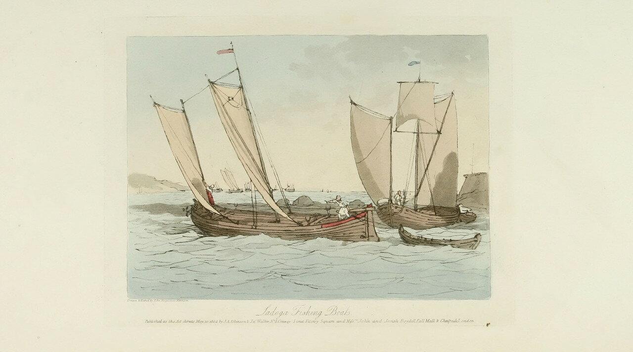 47. Ладожские рыбацкие лодки