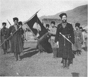 Казаки Волчьей сотни есаула А.Г. Шкуро - партизанского отряда 3-го конного корпуса