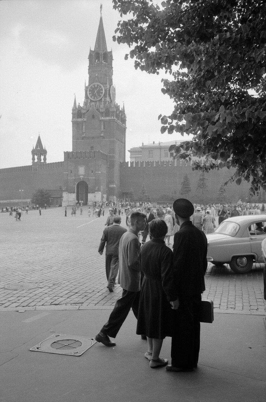 Красная площадь. Спасская башня