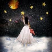 Девушка и звезды