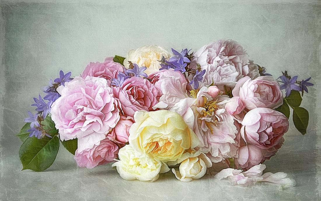 точны цветы для декупажа фото него